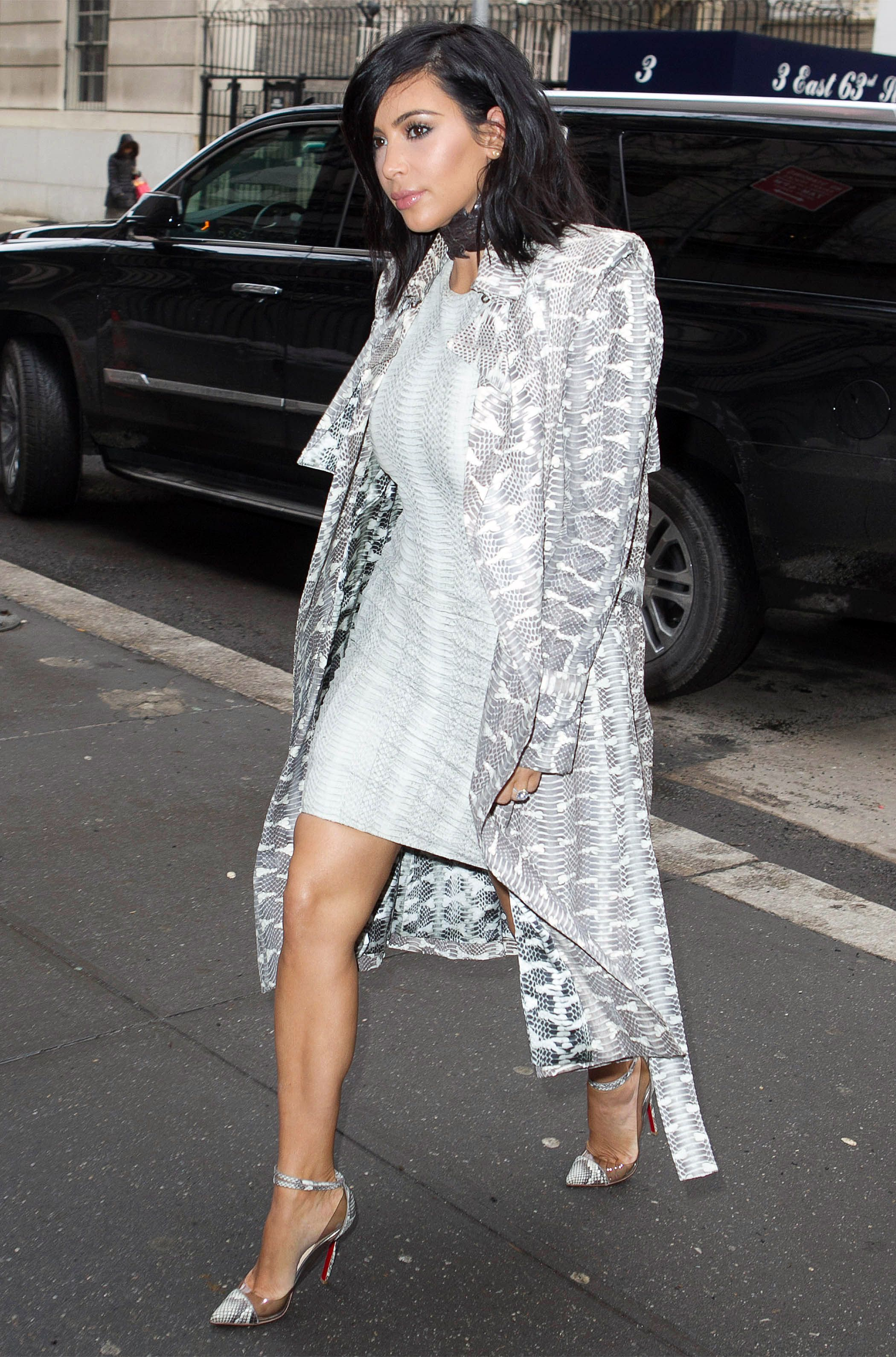 Watch what kim kardashian wore to fashion week look news