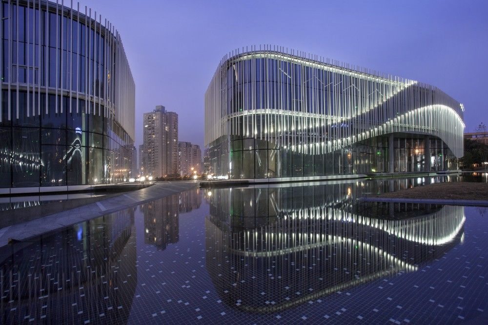 Palm Island in Chongqing, China by Hassell