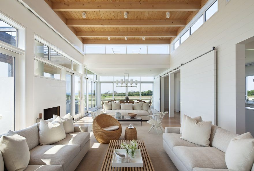 hamptons modern home tour http - Modern Homes Tour