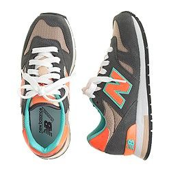 Boys' New Balance® for crewcuts K1300 lace-up sneakers in grey ...