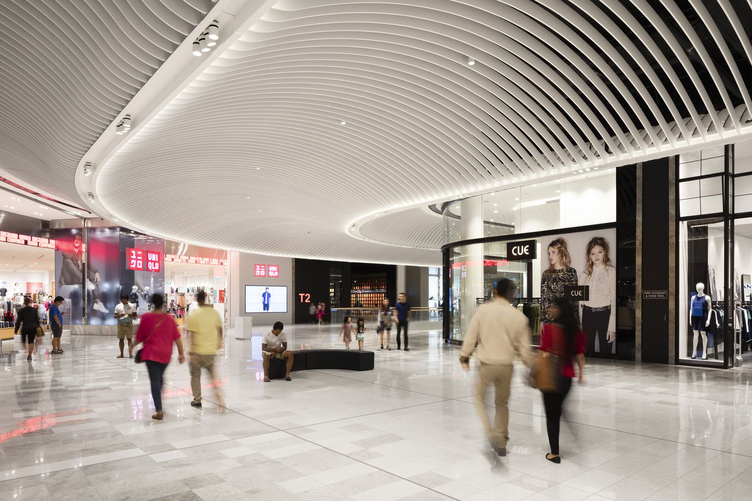 Gallery Of Eastland Town Centre Acme 34 Ceiling Design