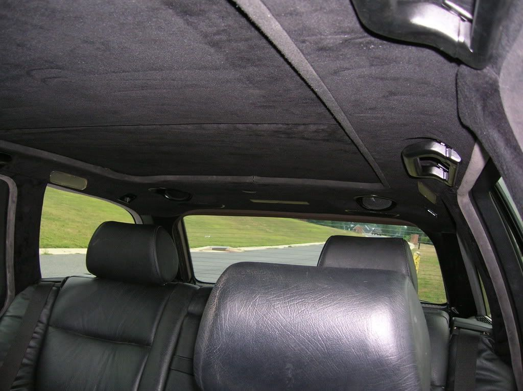 Reupholstering The Headliner Reupholster Black Leather Seating Bmw E38