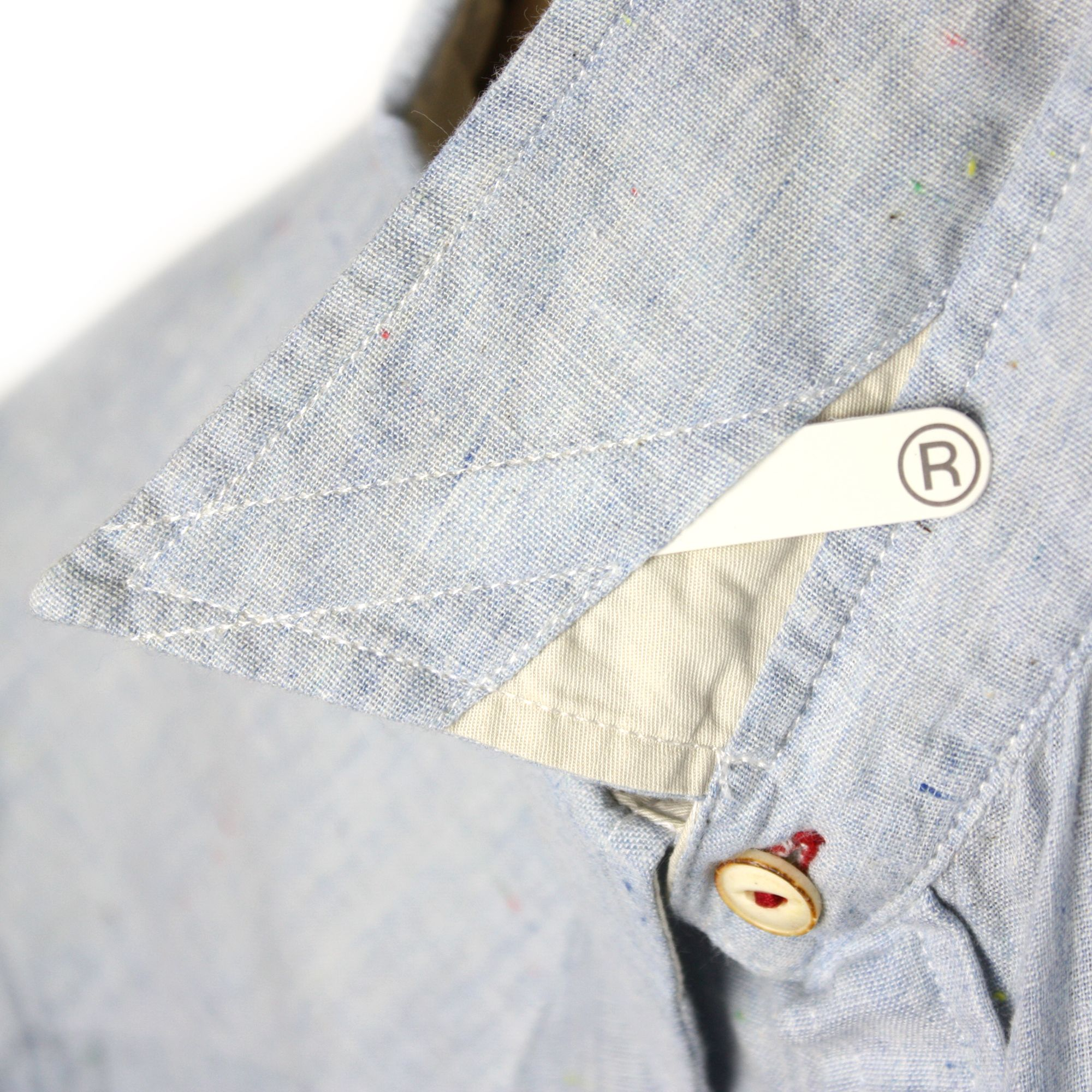 Shirt Detail Removable Collar Stays Detail In 2018