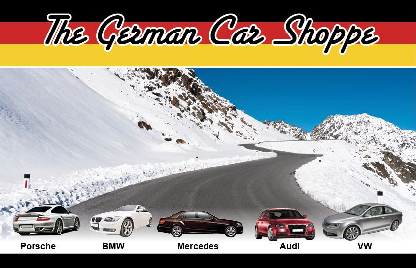We at The German Car Shoppe look forward to serving