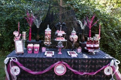 10th Birthday Party Ideas For Girls Halloween Candy Buffet Halloween Baby Shower Theme Halloween Baby Shower