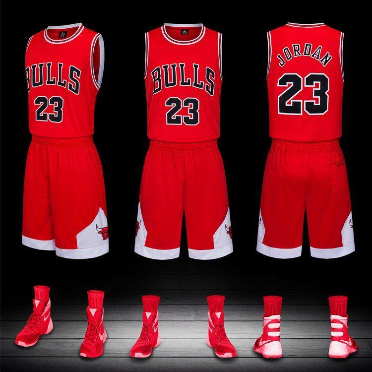 Adultmichaeljordanjerseymenbasketballteamuniforms