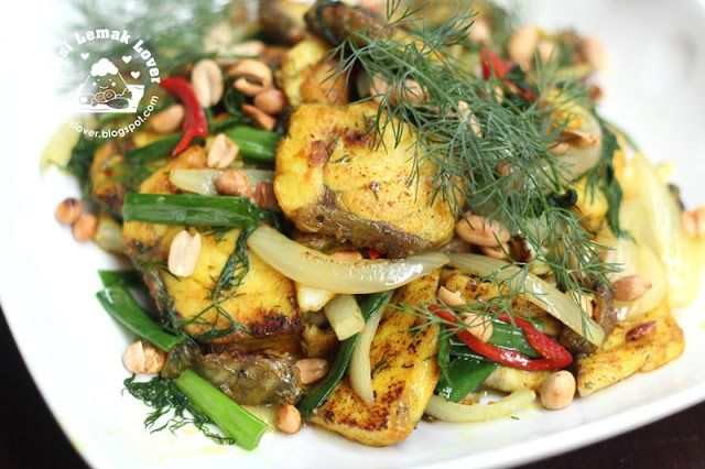 Vietnamese Style Fish with Turmeric & Dill