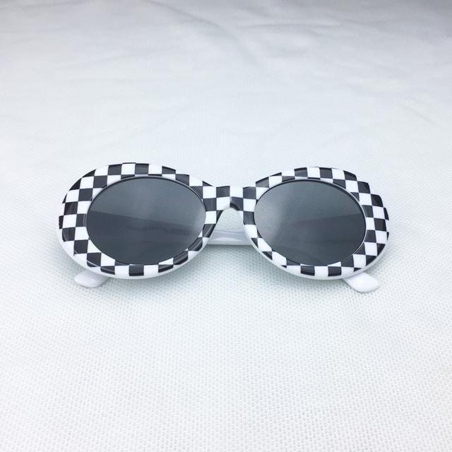 2721ee56ec6 Kurt Cobain Checkered Clout Goggles