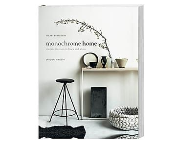 Coffee Table Book Monochrome Home