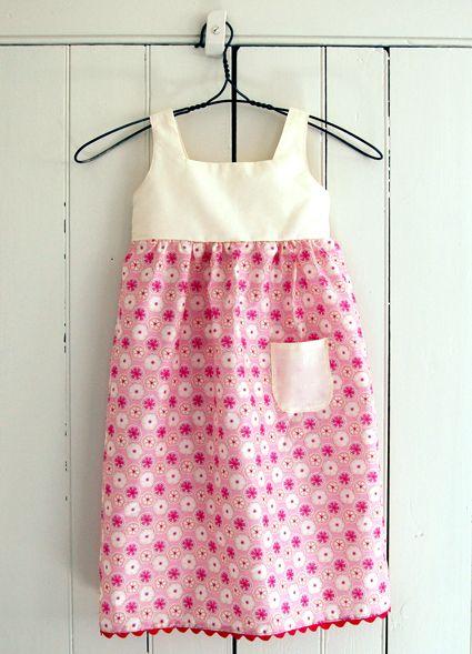 Girls Dress Patterns On Pinterest Girl Dress Patterns