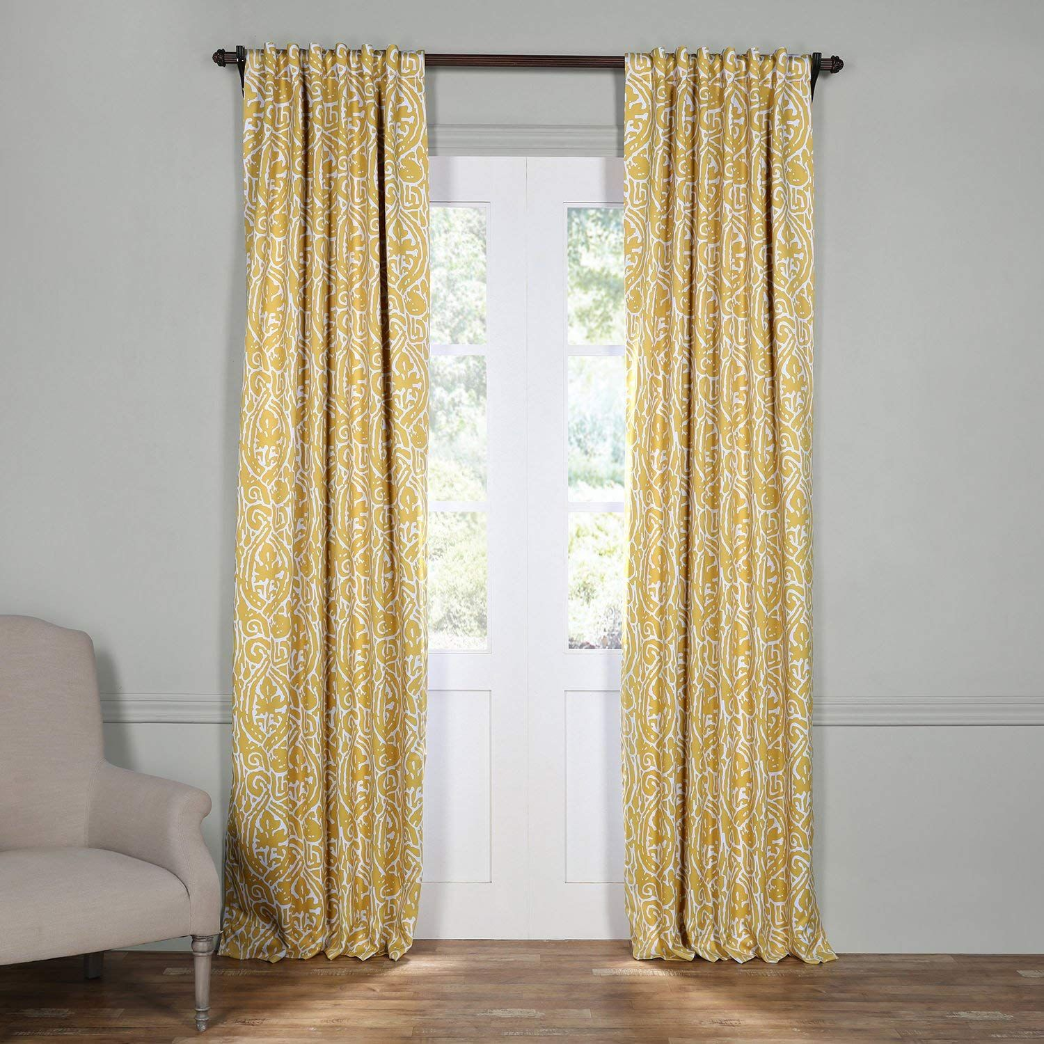 HPD Half Price Drapes BOCH-KC16075-84 Blackout Room