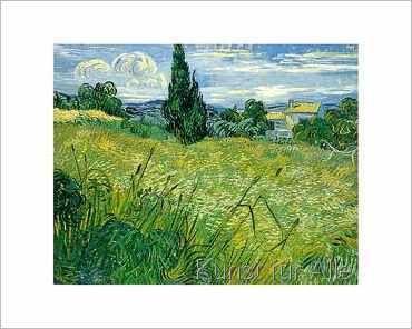 Vincent van Gogh - Les blés verts