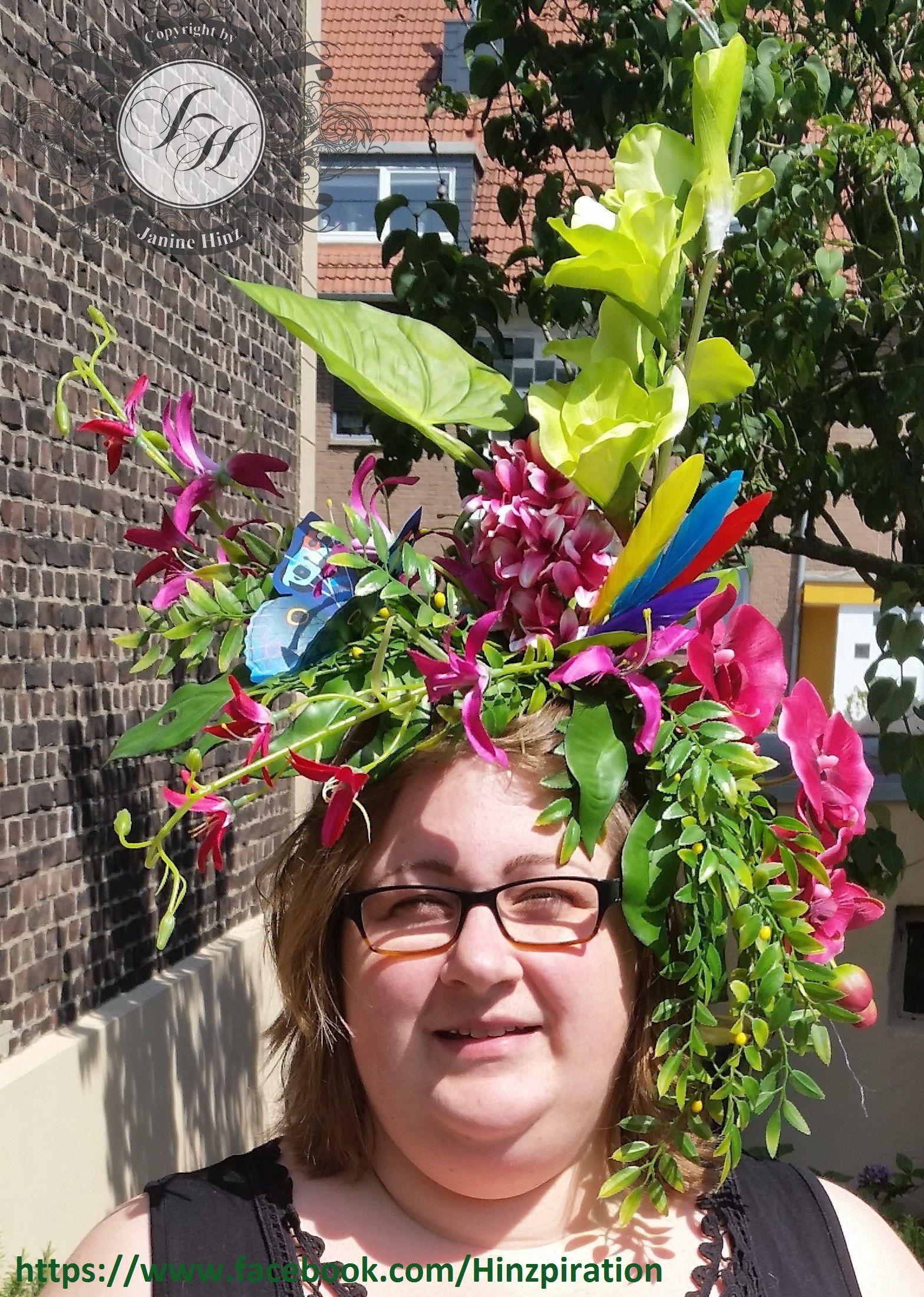 Dschungel Party Selbst Gemachte Dschungelkrone Fur Das Beste Kostum