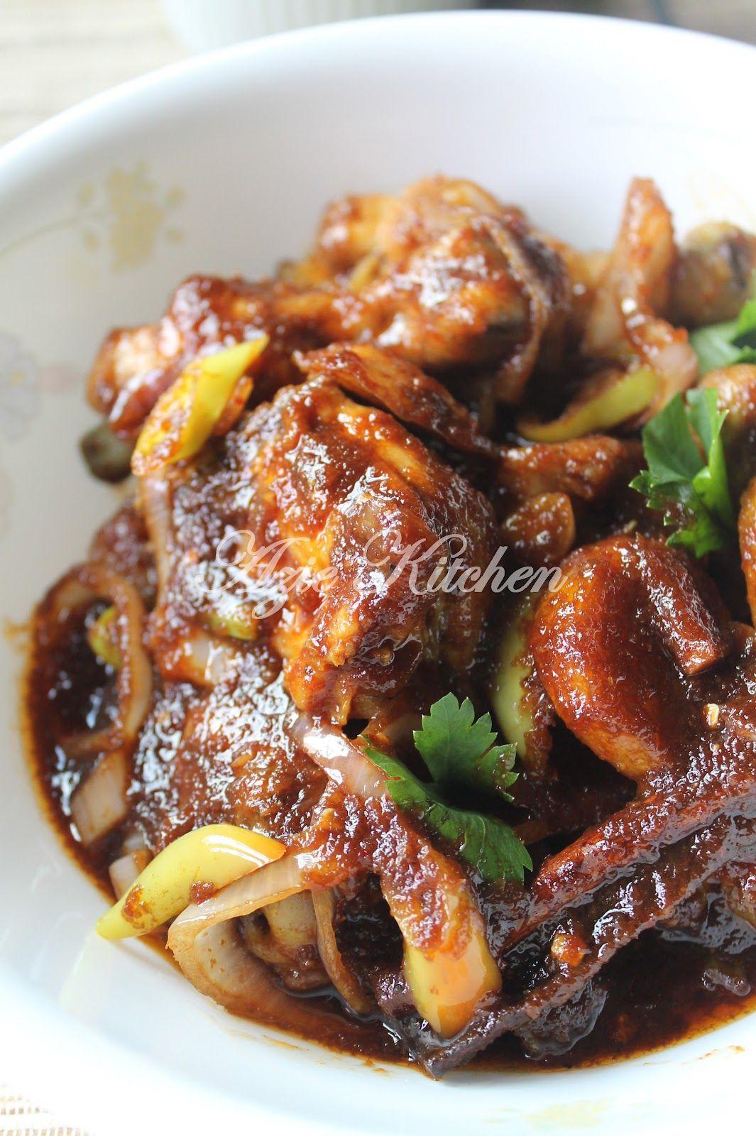 Azie Kitchen Ayam Masak Kicap Pedas Yang Sedap Spicy