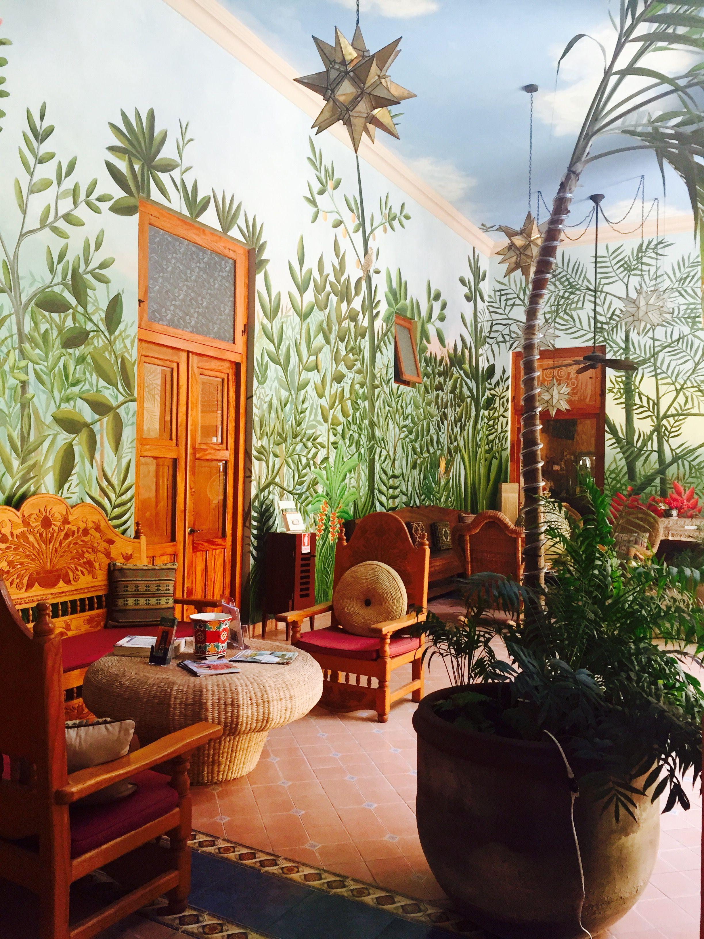 Aquí se siente bien, se duerme bien, se come bien y se sueña mejor. Casa San Ángel Hotel, Mérida, Yucatán México