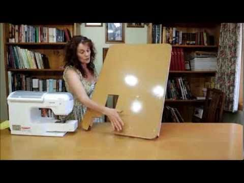 how to make a sewing machine extension table on the cheap