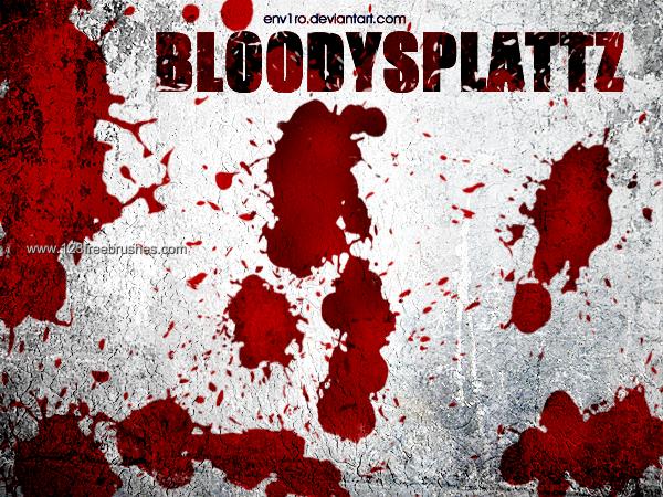 Pin Pa Blood Splatter