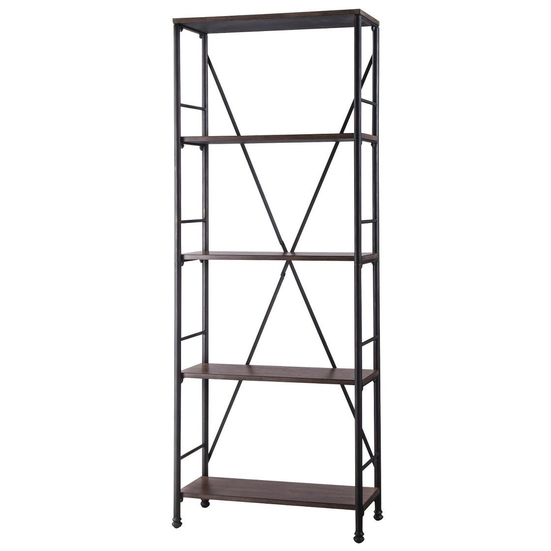"70.6"" 4 Shelf Bookcase Brown Threshold™ Cozy Spaces"