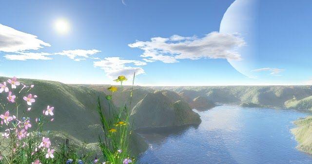 Photo Pemandangan Alam Semesta Pemandangan Gambar Latar Belakang