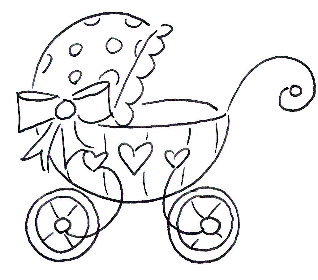 Baby Carriage From Brokenboxstock Com Baby Coloring Pages Baby