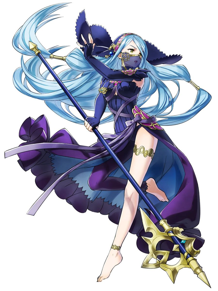 Lost in the Waves: Azura (Bad Dream) : FireEmblemHeroes