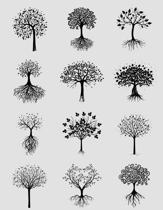 Usa Alguno De Estos Arboles Tumblr Para Decorar Dibujos De Arboles Dibujo De Arbol Dibujos