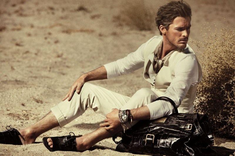 Charlye Madison Wproject: French model/actor David Prat at