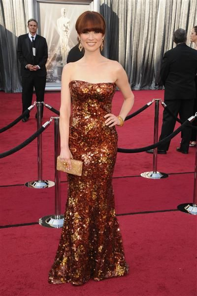 My favorite dress from 2012 Oscars - but my husband said he would have to put on a suit.