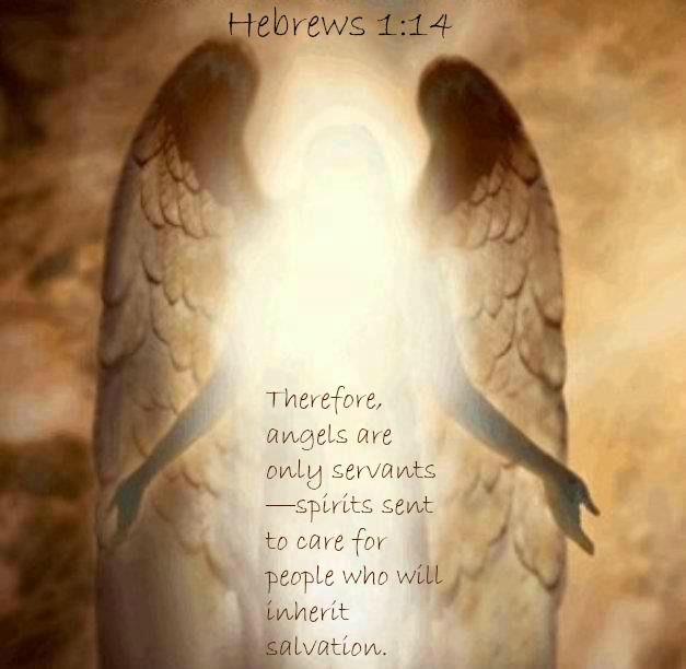 Angel Photos From The Bible The Lord Of The: Hebrews 1:14 Therefore, Angels Are Only Servants—spirits