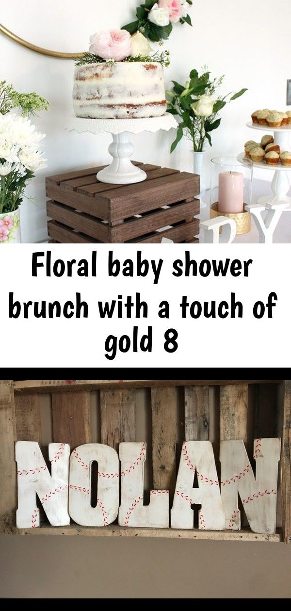 Floral baby shower brunch with a touch of gold 8 #chilibar