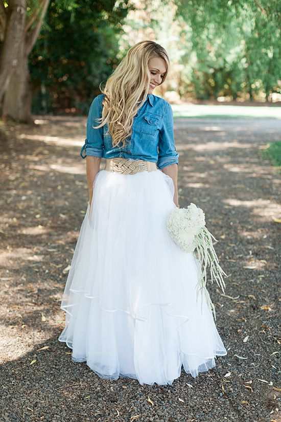 Cowgirl Bridal Shower Ideas Denim Wedding Dresses Denim Wedding Bridal Shower Outfit