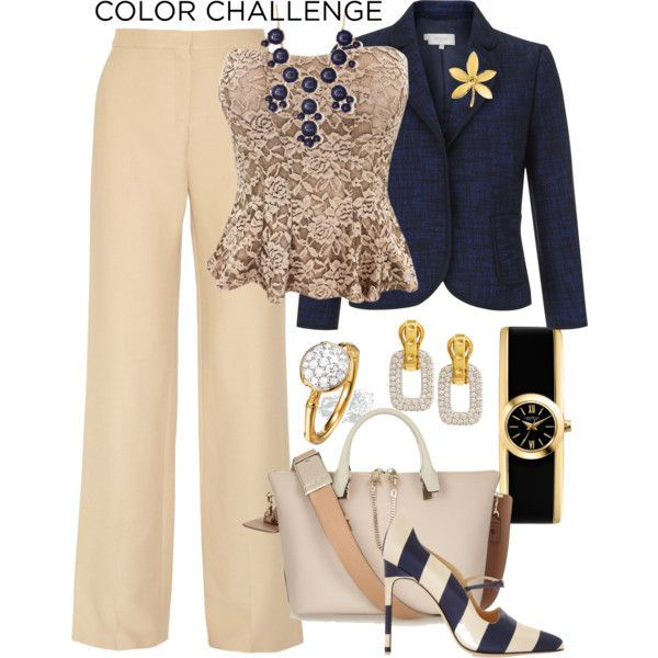 """""""Navy and Gold Contest too"""" by curvygirl-851 on Polyvore"""