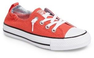 e37156917ee NORDSTROM ANNIVERSARY SALE! Such a fun color and an amazing prices on these Converse  Shoreline Sneakers....love! Women s Converse Chuck Taylor Shoreline ...