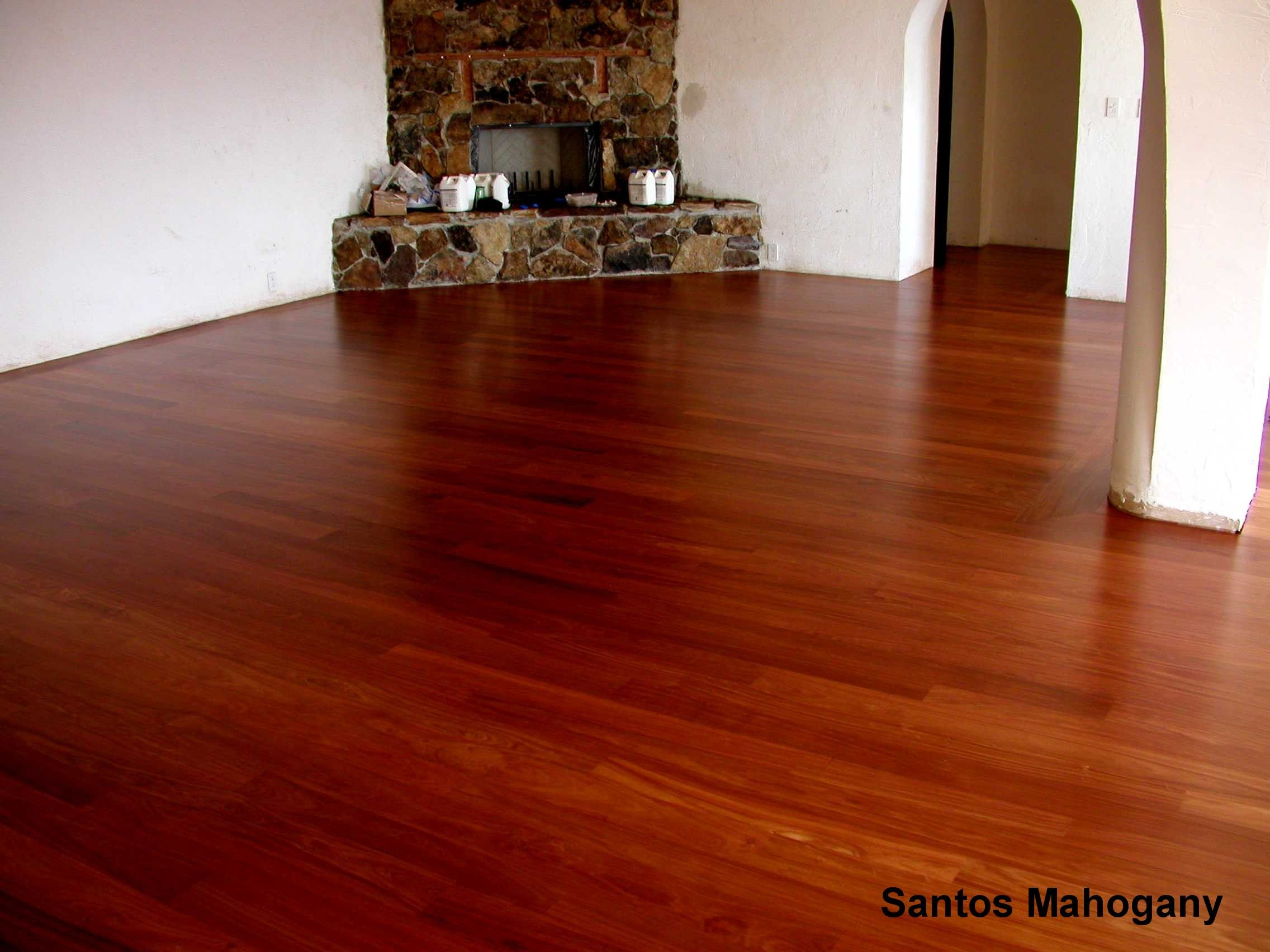 Santos Mahogany floors are timeless