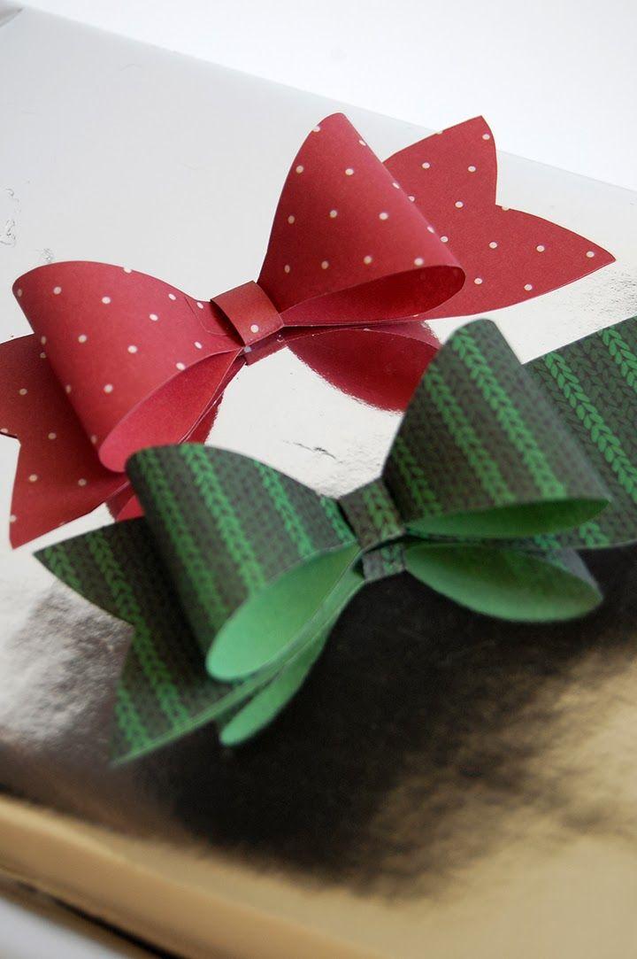 diy joli noeud en papier pour joli paquet cadeau origami cuisine et blog. Black Bedroom Furniture Sets. Home Design Ideas