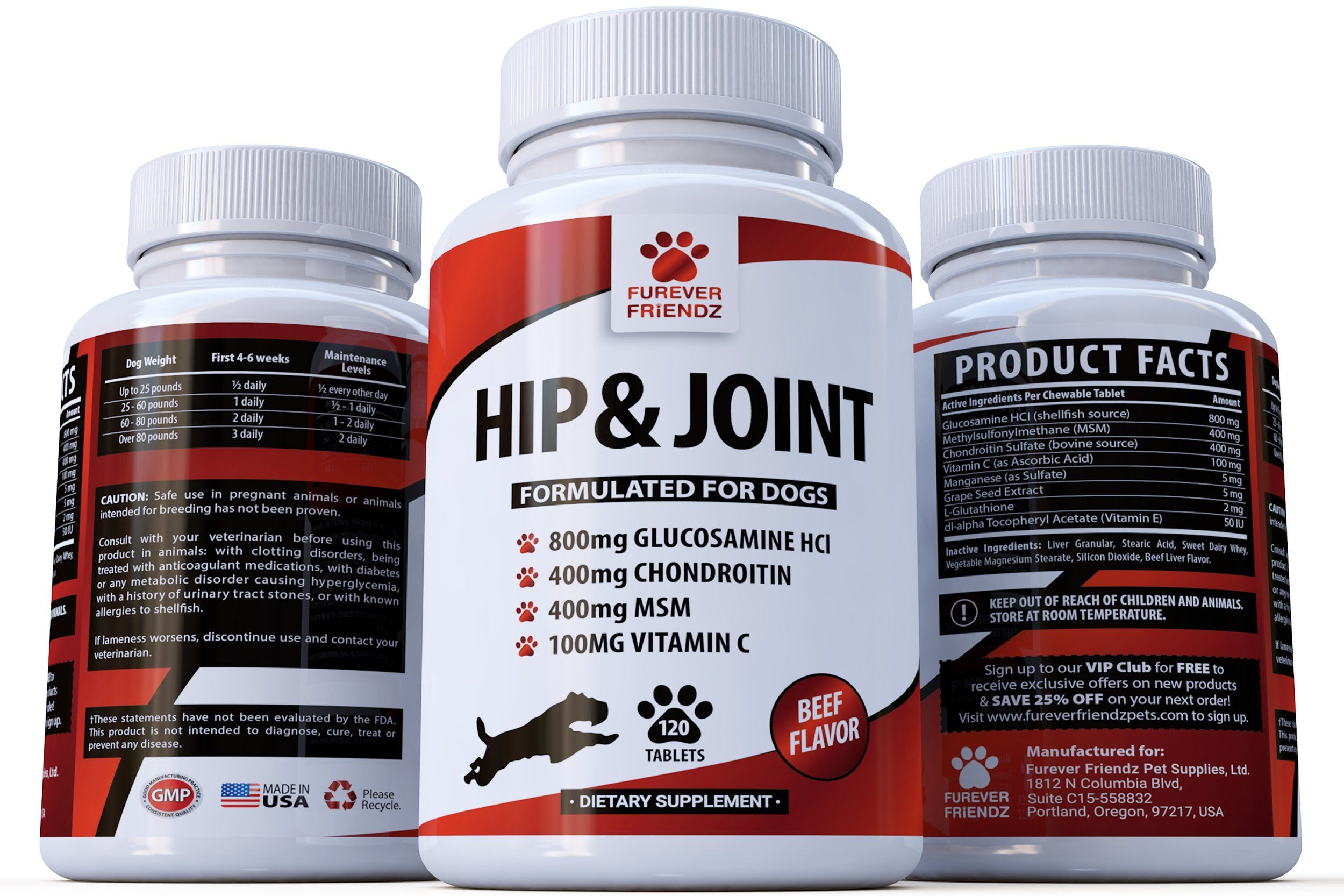 Advanced hip and joint support glucosamine chondroitin msm