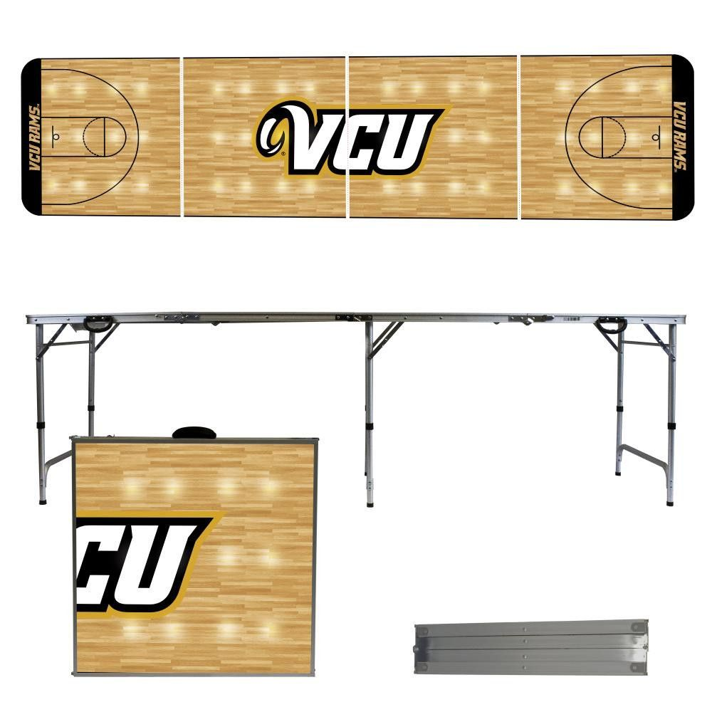 Virginia Commonwealth University Rams Basketball Court Portable Folding Table