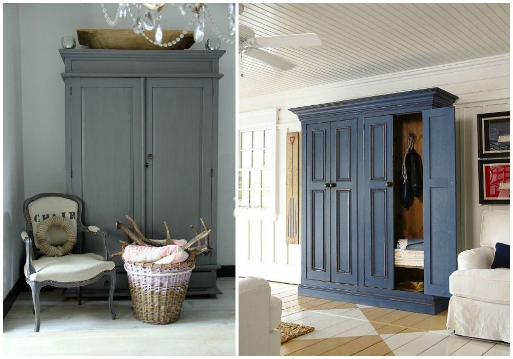 Decorar con armarios antiguos restaurados. En casa de nuestros ...