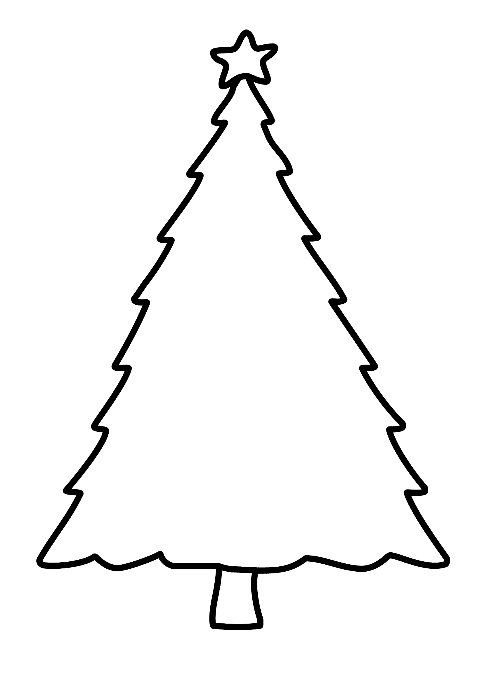 Ausmalbild Weihnachtsbaum 23 Jpg 726 1 093