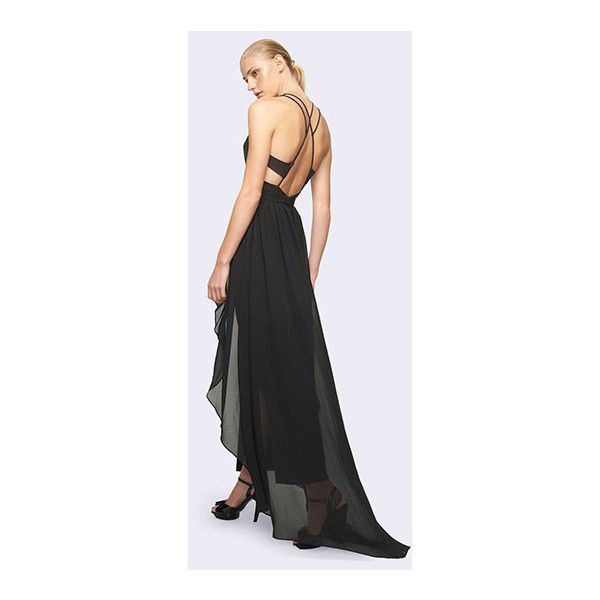 Black Arista Dress ($299) ❤ liked on Polyvore featuring dresses ...
