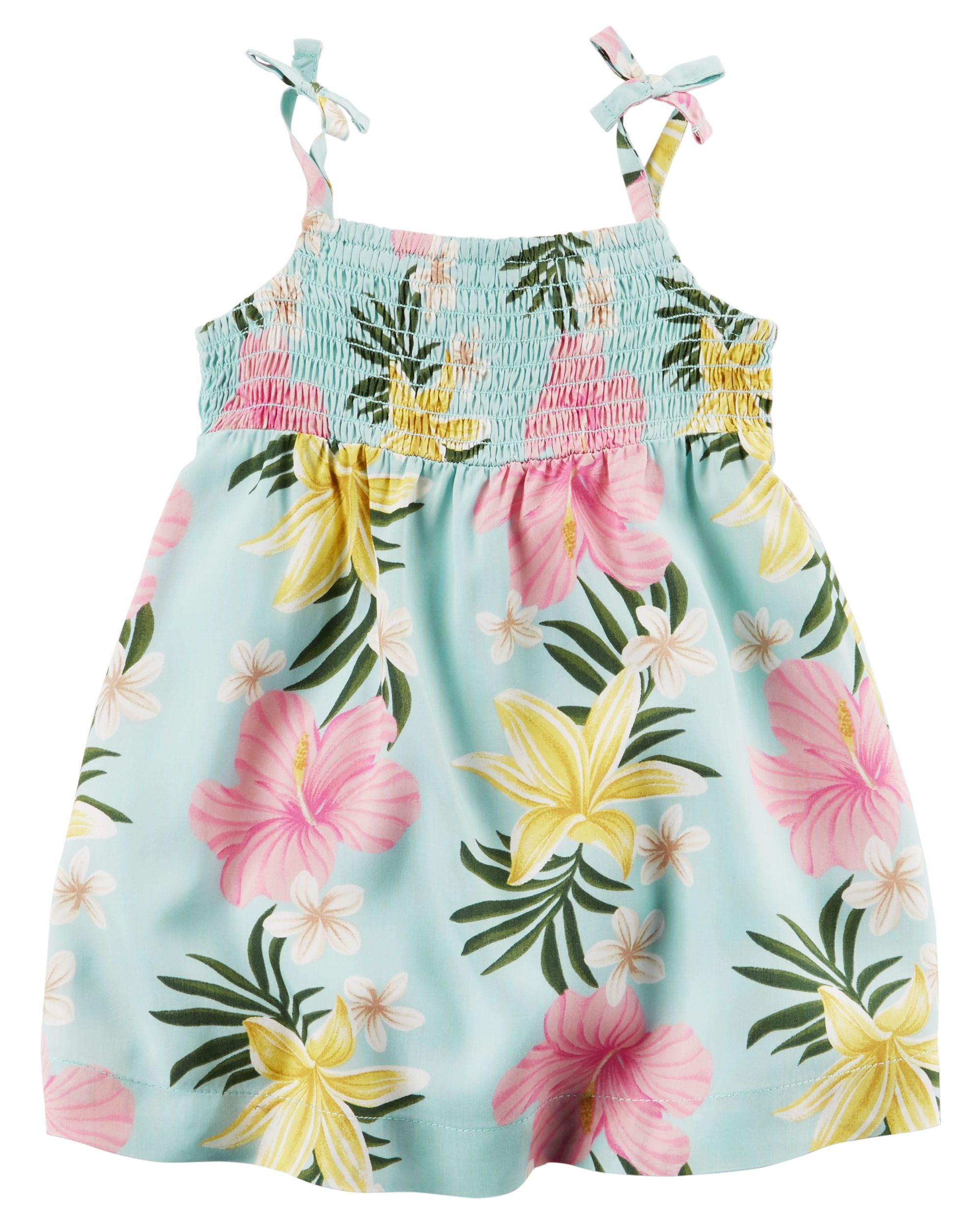 Hawaiian Tie Dress