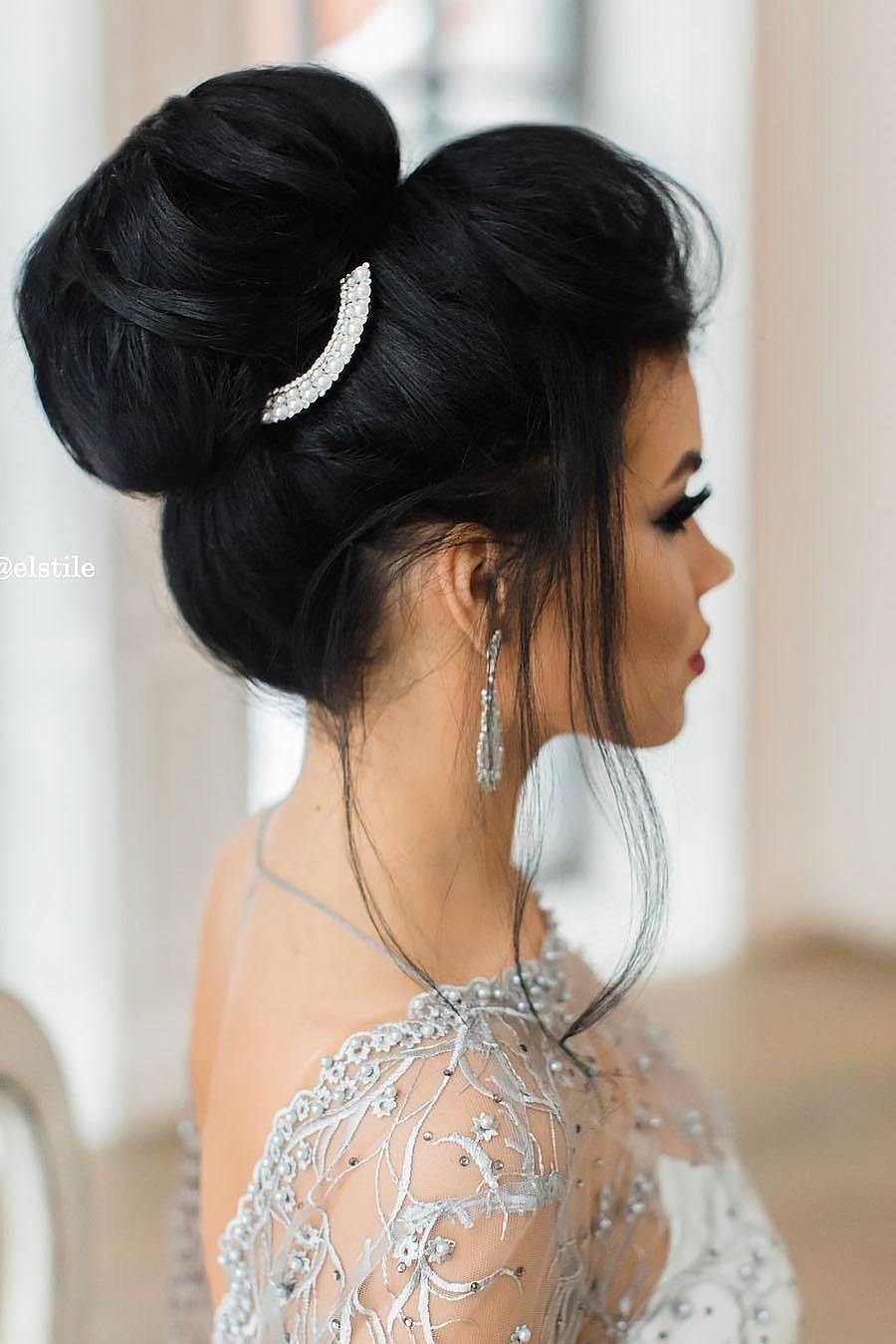 12 schicke und einfache Hochzeitsfrisuren für Gäste, #Chic #Easy