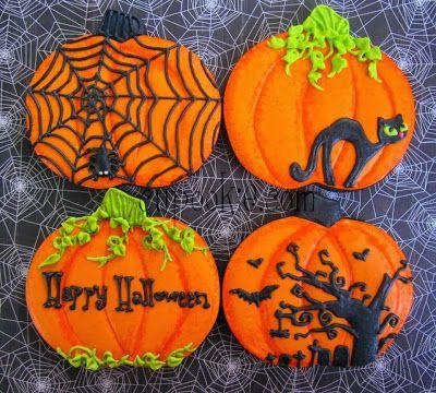Tartas Galletas Decoradas y Cupcakes Paso a Paso Halloween