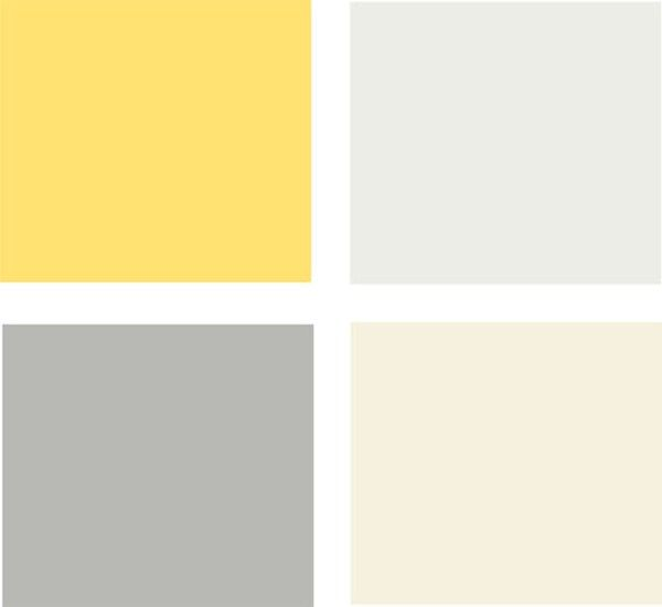 Yellow Accent Wall Bedroom 2 Bedroom Apartment Layout 3d Bedroom Colors Neutral Bedroom Ideas Grey Silver: 8 Great Kitchen Color Schemes