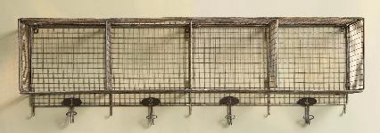 Storage Sundance Wire Shelving Remodelista Wire Shelving Wall Storage Wire Basket Shelves