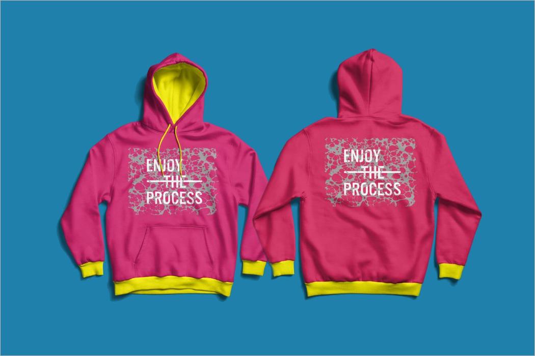 Download Pink Hoodie Mockup Design For Kids Hoodie Mockup Mockup Design Psd Template Free