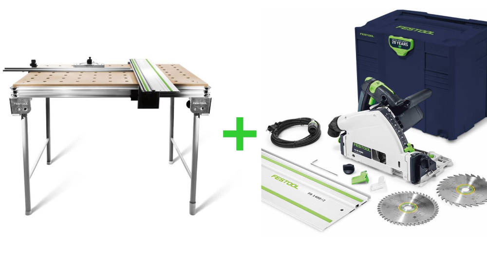 Save 10 Instantly With This Festool Discount Package Deal Enjoy 72 Off The Mft 3 Multifunction Table When Purchased With Any Festool P Festool Mahopac Plunge