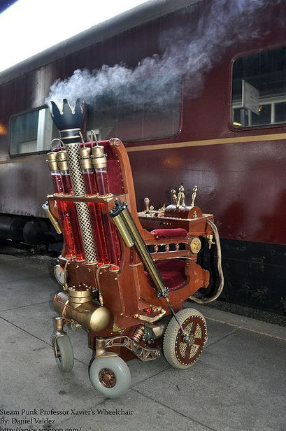 The steampunk wheelchair