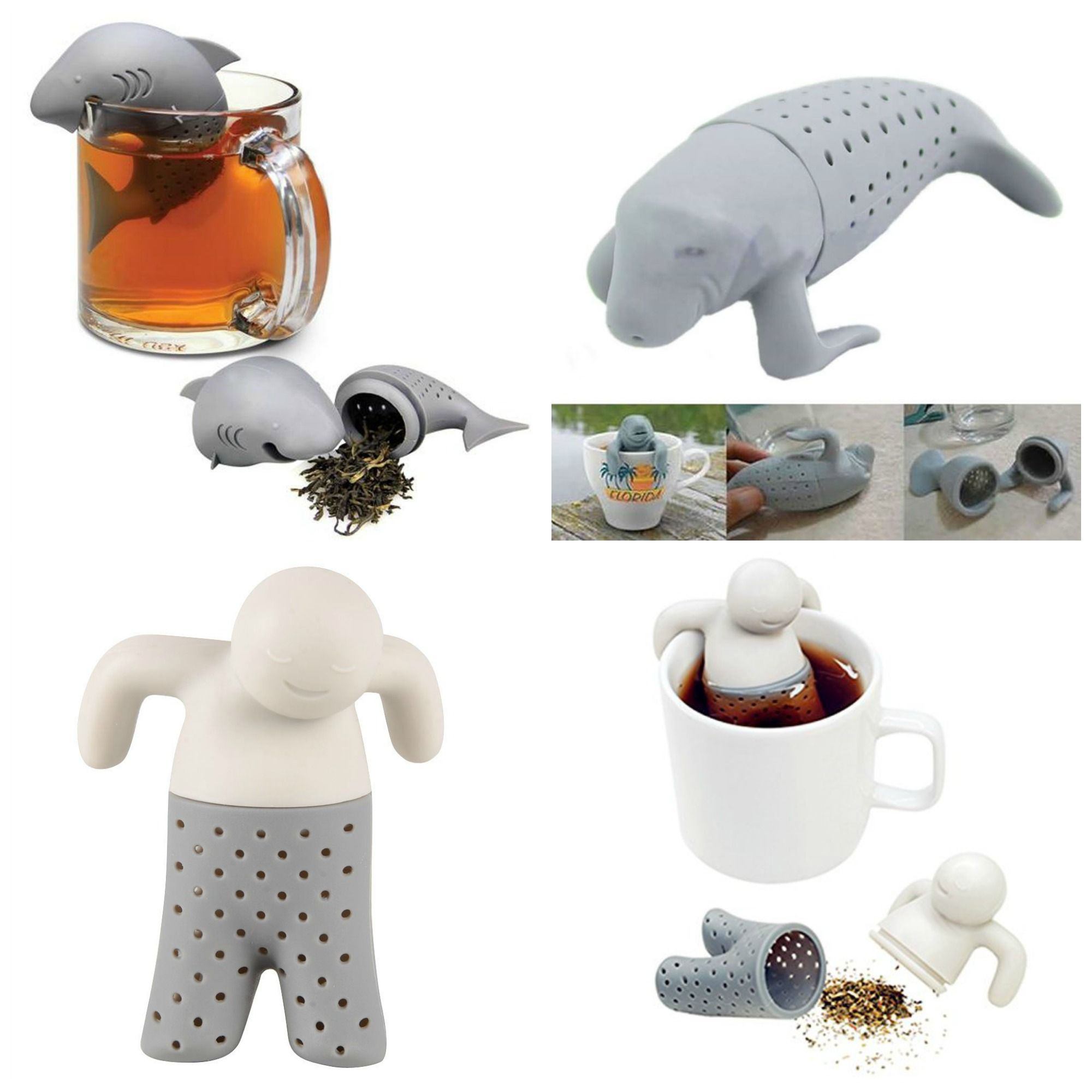 Quirky WELL PRICED Tea Infusers for the Tea Boffins in the house