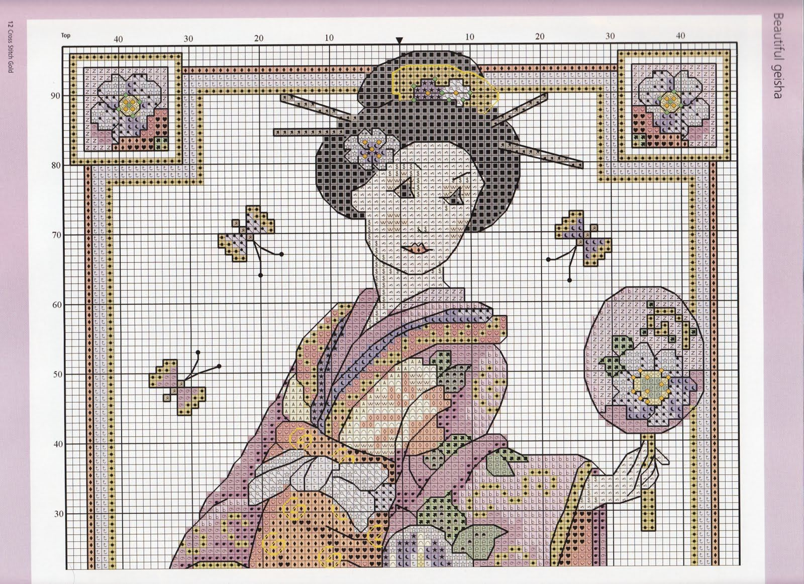 Golden Rose Kimono 2/4